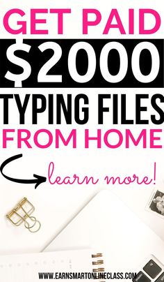 Want to make money from home as a transcriptionist? Let me show you how you can become a transcriptionist … Work From Home Typing, Work From Home Careers, Online Jobs From Home, Legitimate Work From Home, Work From Home Opportunities, Work From Home Tips, Online Surveys For Money, Earn Money From Home, Earn Money Online