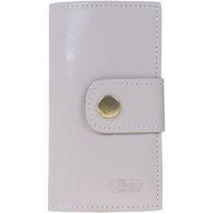 Carteira Artlux De Couro Para Kit Higiene Bucal  2Of Off White