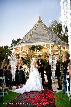 Wedding, Ceremony, Red, Decor
