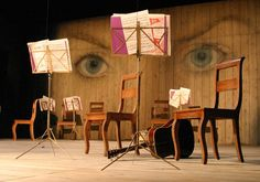 (Twelfth Night, RSC (2004) — Tom Piper - Theatre Design)--This is so interesting! I wish I knew the concept behind it!