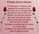 Image detail for -all Mom's in Heaven we miss...miss you Mom..we all miss our loved mom ...