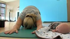 """Active Moms' Club new moms class, """"From the Core: Postnatal Recovery"""" featured on 190North Jan 2011 
