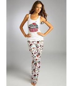 20605934e1 cute grown- up cupcake pj s! Sexy Pajamas
