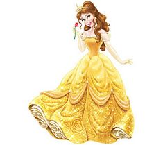 RoomMates Princess Belle Peel & Stick Giant Wall Decals