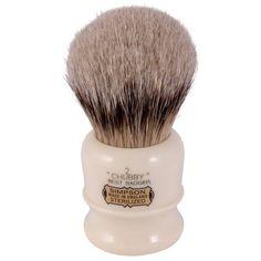 Simpsons Chubby CH2 Best Badger Hair Shaving Brush Imitation Ivory - Best Badger Shaving Brushes - Shaving Brushes