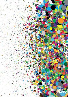 Colourful Universe #5 by simoncpage, via Flickr