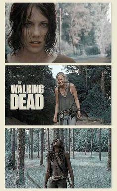 """Maggie, Beth, & Michonne ~ S4E9 """"After"""" ~ The Walking Dead (Season 4)"""