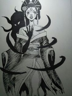 The geisha as a summoner^^