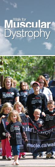 Muscular Dystrophy Canada's signature event: Walk for Muscular Dystrophy