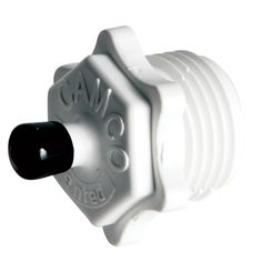 Camco Blow Out Plug - Plastic - Screws Into Water Inlet - https://www.boatpartsforless.com/shop/camco-blow-out-plug-plastic-screws-into-water-inlet/