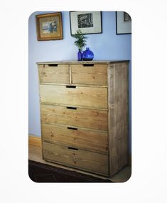 chest of drawers, apothecary cabinet & dressing table, eco rustic wood, x 6 drawers, custom sizes - trad handmade in Somerset Door Furniture, Furniture Making, Furniture Ideas, Bathroom Furniture, Wooden Furniture, Large Chest Of Drawers, Apothecary Cabinet, Wood Joinery, Sustainable Furniture
