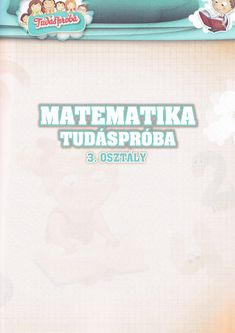 Szabó Imre Tiborné - Matematika Tudáspróba 3. Osztály Personalized Items, Education, School, Cards, Maps, Onderwijs, Learning, Playing Cards