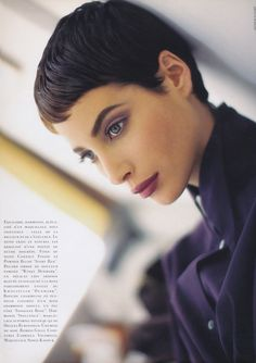 ☆ Christy Turlington | Photography by Arthur Elgort | For Vogue Magazine France | August 1990