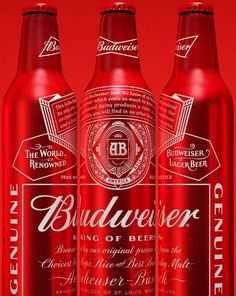 Reviewed: New Logo and Packaging for Budweiser by Jones Knowles Ritchie #inspiration #graphicdesign