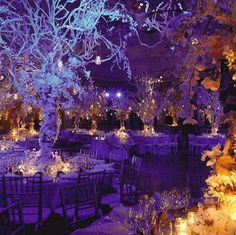 Very fairyland, I love all the centerpieces