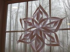 Learn to make a snowflake from paper. Thanks to everyone for commenting and enjoying! Your responses are great. Also, FYI, I used printer paper to show the technique...