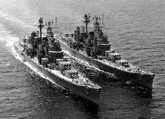 Navy Marine, Navy Military, Navy Coast Guard, Naval History, Military History, Heavy Cruiser, Us Navy Ships, Military Diorama, United States Navy