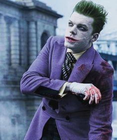 The Joker Gotham. Gotham Show, Gotham Series, Gotham Cast, Gotham Joker, Joker Comic, Joker And Harley Quinn, The Joker, Gotham Villains, Cosplay