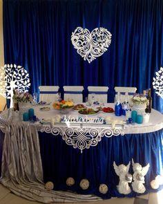 Весілля в насичено синьому Водограй | 8 фотографій