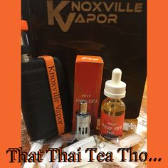 NEW FLAVOR!  That Thai Tea Tho...  MAX VG, available in 0, 3 & 6mg  The name says it all but only you can experience the flavor!  Come by today, try it out and pick yourself up a bottle from...  Knoxville's & Sevier's Finest!  #knoxvillevapor #knoxvillevaporpigeonforge #knoxvillesfinest #seviersfinest #newflavor #marinavapes #thatthaiteatho