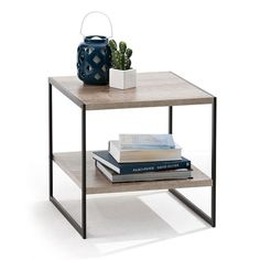 $25 from kmart - Industrial Side Table - for TV?