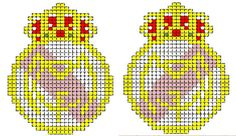 patrones de llaveros a punto de cruz | Aprender manualidades es facilisimo.com