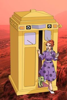 Doctor Who magic school bus. This just made me smile