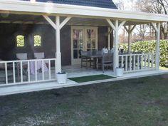 Houten veranda platdak Woerden