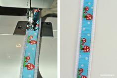 DIY Nähanleitung Hundehalsband selbst nähen