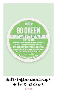 Go Green Healing Balm : Mojo Spa