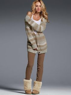 Love this for a cold day inside the house...comfy!