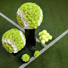 Great for Ladies Tennis Banquetsl! More tennis ideas at #lorisgolfshoppe