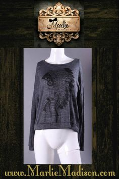 Tribal Leader Long Sleeve Top http://www.marliemadison.com/tops