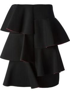 Shop Marni frill skirt in Luisa World from the world's best independent boutiques at farfetch.com. Over 1000 designers from 60 boutiques in one website.