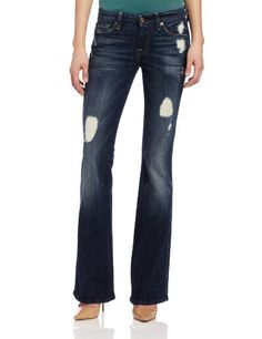 7 For All Mankind Womens A Pocket Jean Rich Dark Destroyed 24 >>> Read more reviews of the product by visiting the link on the image.(This is an Amazon affiliate link and I receive a commission for the sales)