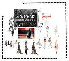 """NYFW"" by ornella-matassoli on Polyvore featuring Bibhu Mohapatra e Nicole Miller"
