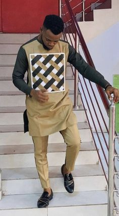Amazing senator matching outfits for the men - DarlingNaija African Wear Styles For Men, African Shirts For Men, African Dresses Men, African Attire For Men, African Clothing For Men, African Party Dresses, African Style, Nigerian Men Fashion, African Men Fashion