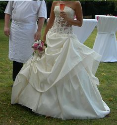 Nouvelle robe publiée!  Hervé Mariage mod.. Pour seulement 850€! Economisez 43%! http://www.weddalia.com/fr/boutique-vendre-robe-de-mariee/herve-mariage-mod/ #RobesDeMariée www.weddalia.com/fr