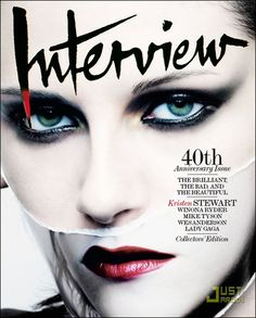 Kristen Stewart. Interview Magazine. Oct/Nov 2009.