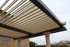 Motorized Patio Roof Covers For Homeowners | EQUINOX Louvered Roof Systems