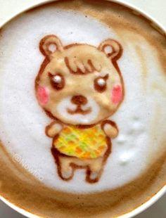 #Latte art :*¨¨*:Coffee♥Art:*¨¨*:  #coffee