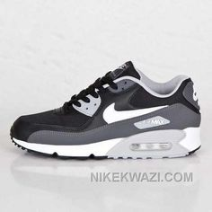 http://www.nikekwazi.com/nike-air-max-90-mens-black-light-grey-white.html NIKE AIR MAX 90 MENS BLACK LIGHT GREY WHITE Only $82.00 , Free Shipping!