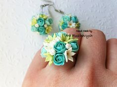 Hey, I found this really awesome Etsy listing at https://www.etsy.com/listing/223594537/polymer-clay-jewelry-floral-earrings-and