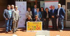 Las asociaciones de comercio de la comarca renuevan su apoyo a Cruz Roja