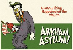 The Joker Dr. Seuss Style