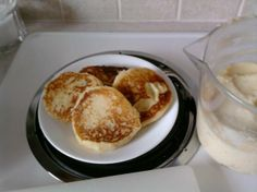 LEFTOVER MASHED POTATO PANCAKES.  Had leftover Mashed Potatoes on a Sunday morning, and no potatoes for frying, Sacrilidge!  My hubs loves fried potatoes for breakfast on the weekend.  So I searched and found this!  It is a winner, I recommend putting diced onion and shredded Cheddar Cheese in the batter!  The hubs put sour cream on his, I was wishing for salsa.  This will be a repeat with leftovers in the future!  Warning, much more filling than regular pancakes!  One maybe two are plenty!