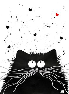 Kim Haskins - cute cat prints