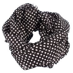 Moe scarf in black  #redesignedbydixie #scarf #hot #pretty #fashion #dots