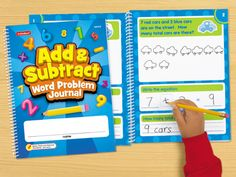 Add & Subtract Word Problem Journal at Lakeshore Learning
