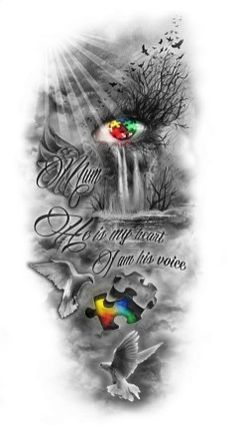 Custom tattoo design brings your custom idea to reality. Create your perfect custom tattoo design based on your own ideas and specifications. Half Sleeve Tattoos Drawings, Unique Half Sleeve Tattoos, Half Sleeve Tattoos Designs, Angel Tattoo Designs, Tattoo Design Drawings, Best Sleeve Tattoos, Tattoo Designs And Meanings, Tattoo Designs Men, Body Art Tattoos